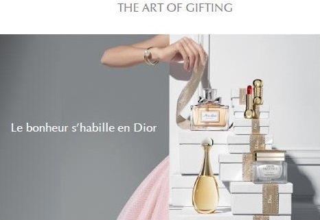 Création de signature Dior